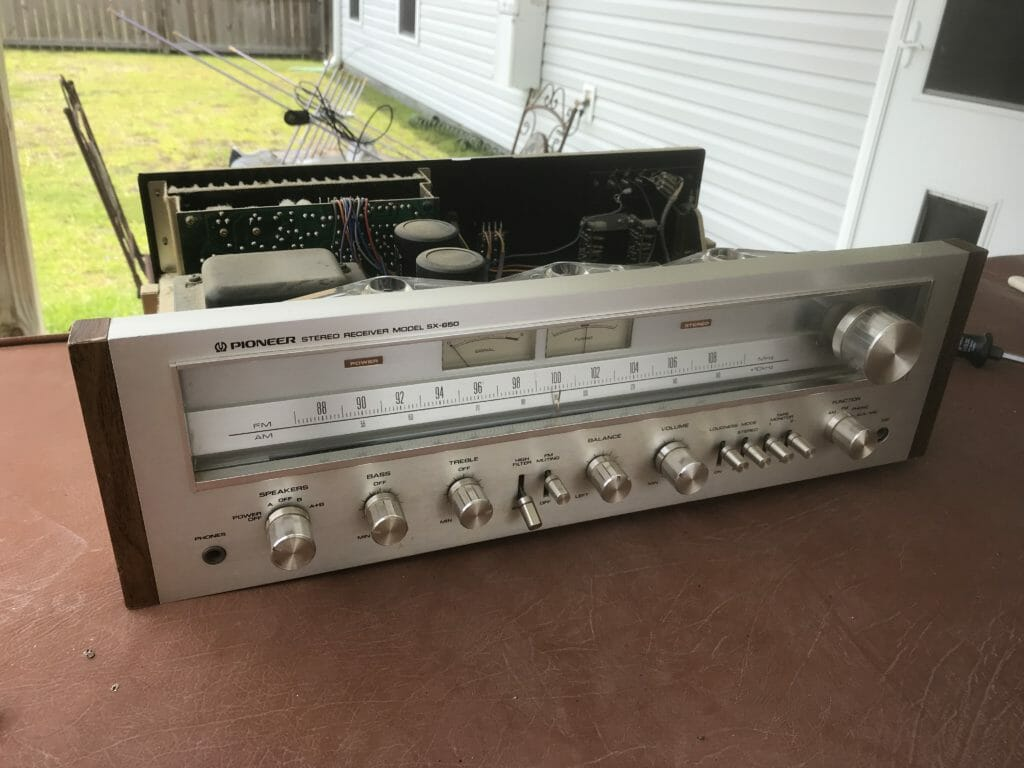 Saving Old Stereo Gear From Craigslist – Pioneer SX-650