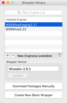Installing Uniden Sentinel on Mac OS X with Wineskin