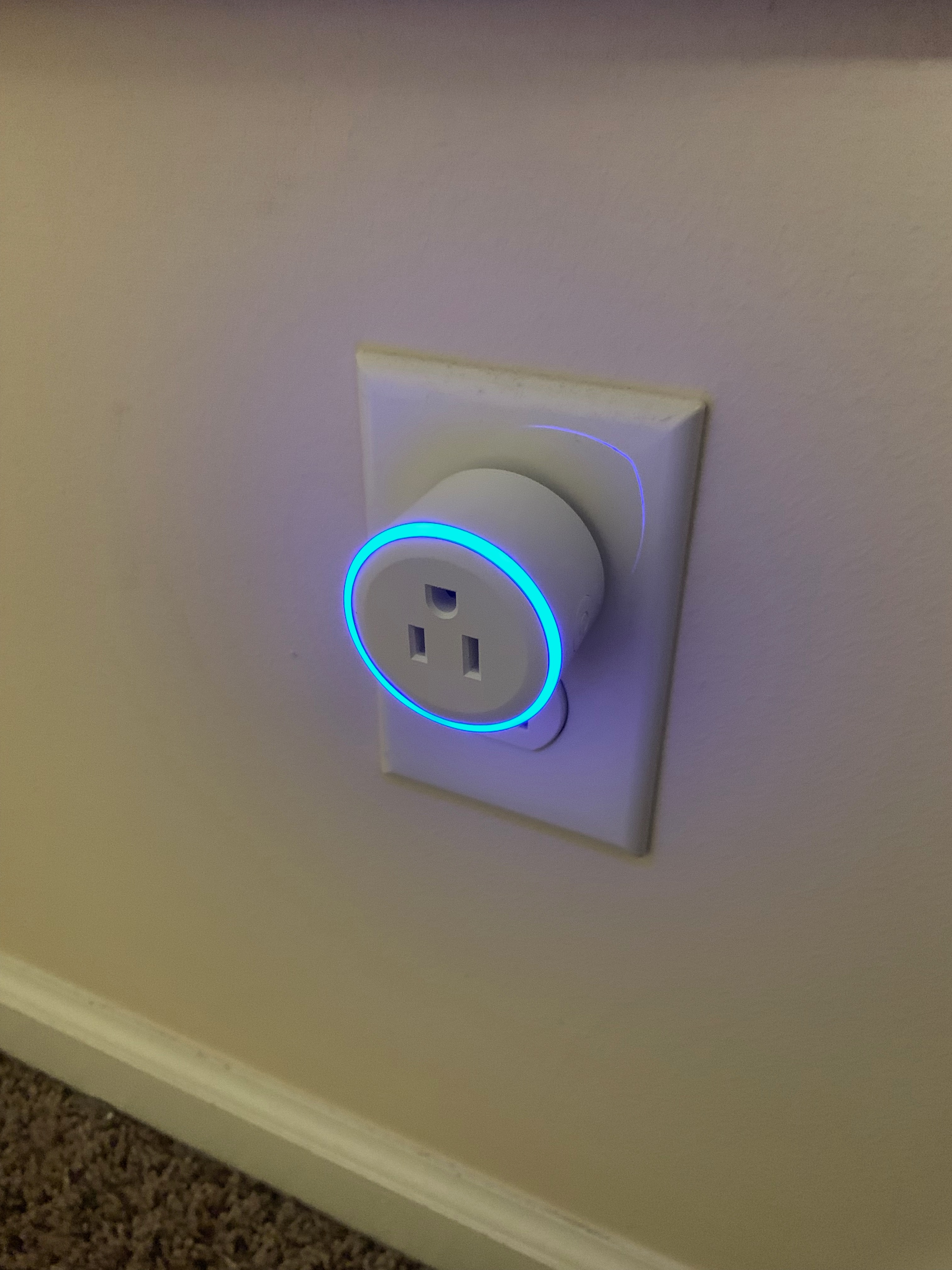 Flash Outlets with LED Ring With Tasmota | John's Tech Blog