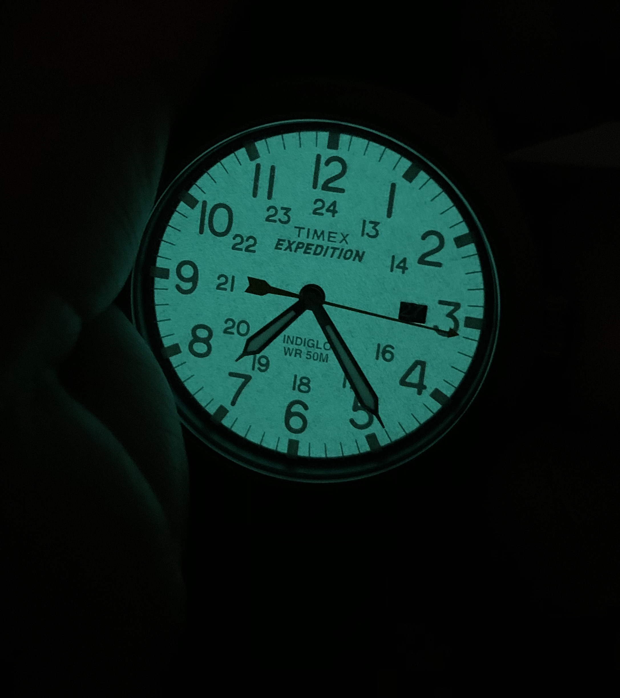 Timex Expedition with Indiglow